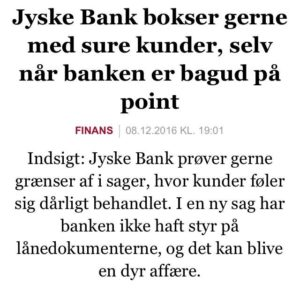 sure kunder i jyske bank
