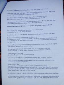22-08-2018 side 2/3 Til koncern ledelsen og advokaterne i jyske bank Det handler om ansvar Læs brevet her