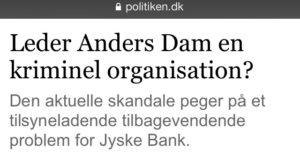 Leder Anders Dam en kriminel ORGANATION Ja det ser det ud til