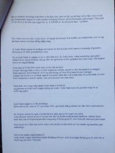 24-07-2018 brev til jyske bank Juradisk Advokat Morten Ulrik Gade side 3/6 Dialog er vigtigt, læs brevet her