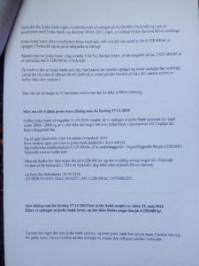 24-07-2018 brev til jyske bank Juradisk Advokat Morten Ulrik Gade side 4/6 Dialog er vigtigt, læs brevet her