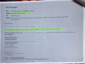 29-08-2012 skriver NYKREDT at det er kunden selv som vælger om og hvornår kunden ønsker at hjemtage et lån Så når jyske banks ansatte selv forsøger at hjemtage et lån på 4.328.000 Og det bag om kunden, som jyske bank allerede har beregnet renter af i 4 måneder, derfor er det yderst presserende for jyske bank at kunden optager det tilbudte lån på 4.328.000 kr Derfor forsøger jyske bank selv at hjemtage et lån på 4.328.000 i Nykredit