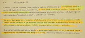 Jyske bank benægter og benægter og benægter Som at jyske bank har udnyttet kundes manglende indsigt Som at jyske bank skjuler sandheden og DIRÆKTE LYVER FOR DERES KUNDER