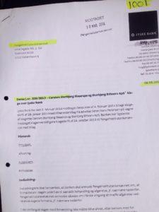 Jyske bank i ond tro når jyske bank i 2013 vil have afvist en sag der handler om et lån som jyske bank ved ikke findes og fastholder rente bytte af lånet, som ikke findes Det samme gør sig gældende i den nødvendige retssag i byretten 2015 Kunde ved ikke i 2015 at jyske bank lyver vildleder og bedrager kunden
