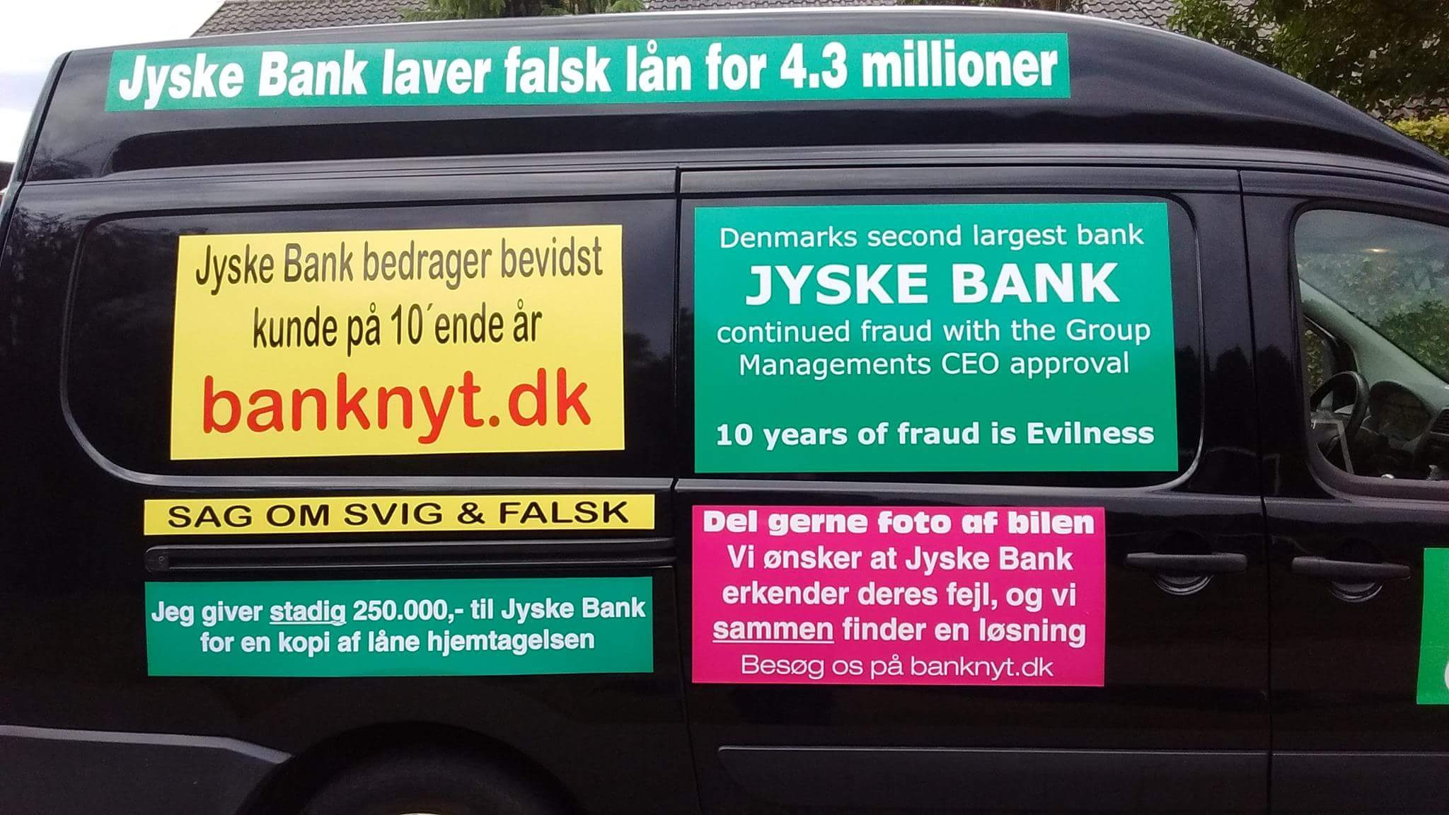 "Final Procedure page 1-52. date 28-10-2019. Danish bank Jyske Bank in major fraud case, plaintiff discovers that Jyske bank has paid their lawyer Lundgren's return commission, not to present the client's case to court. ""Bribery"" presented in Case BS-402-2015"