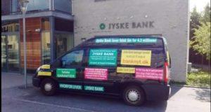 Mon der er en grund til at jyske banks ledelse kun griner af de kunder som ikke vil bedrages ? Spørg Anders Dam