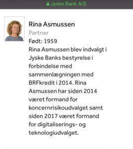Rina Asmussen Partner bestyrelsesmedlem