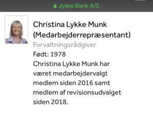 Christina Lykke Munk bestyrelsesmedlem