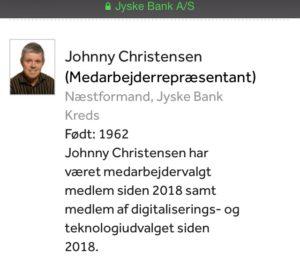 Johnny Christensen bestyrelsesmedlem