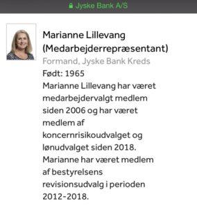 Marianne Lillevang bestyrelsesmedlem