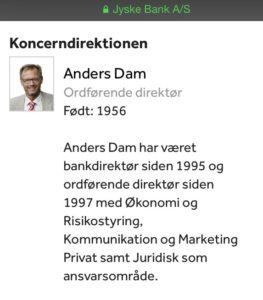 DIRIKTØR Anders Dam