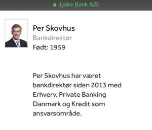 Bankdirektr Per Skovhus
