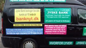 Anders Dam jyske bank GÅ AF hvis du ikke kan bevise kunde i jyske bank har lånt 4.328.000 kr Nu jyske bank i 10 år har påstået og taget millioner i renter for det. Det mindste en kunde må kunne forlange, Er da at jyske bank beviser at kunden har lånt de penge 4.328.000 kr. Et beløb jyske bank har rente beregnet siden 30-12-2008 men som banken ledelsen og Anders Dam stadig nægter at bevise