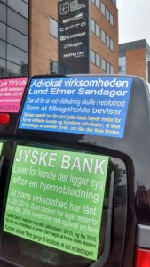 LUND ELMER SANDAGER PÅ ENDEN AF BIL Lyver om lån der ikke findes, men som jyske bank narrede syg kunde til at tro var optaget