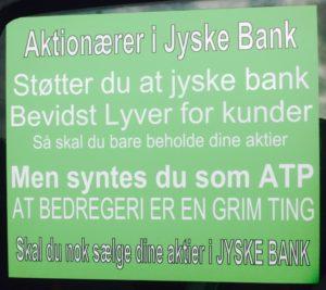 Skal være mere grøn hvis som svindel banken